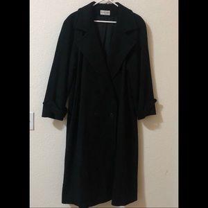 🧥 Like New Charles Klein Long Forstmann Wool Coat